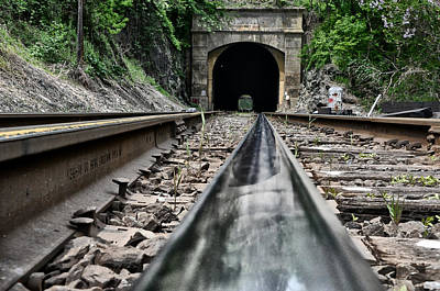 Flatrock Tunnel Near Belmont Hills Art Print by Bill Cannon