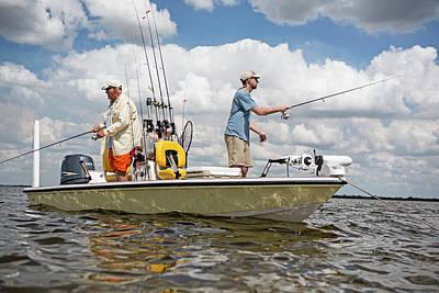 Flats Fishing In Florida Art Print