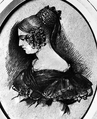 Gustave Flaubert Wall Art - Drawing - Flaubert Madame Bovary by Granger