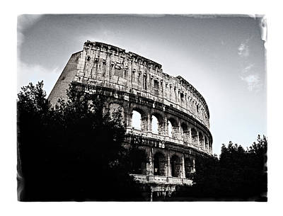 Art Print featuring the photograph Flavian Amphitheater by Joe Winkler