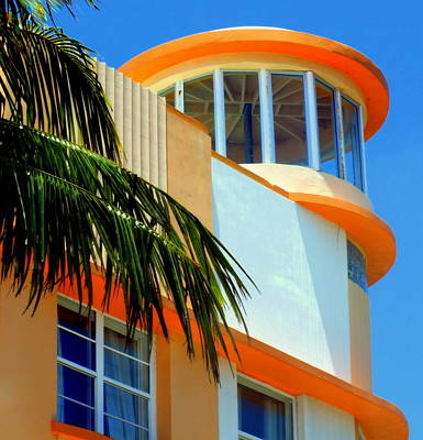 Flavour Of Miami Art Print by Karen Wiles