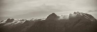 Susann Serfezi Photograph - flawy mount peak I by AugenWerk Susann Serfezi