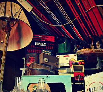 Different Stuff Photograph - Flea Finders by Cyryn Fyrcyd