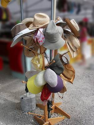 Photograph - Flea Hats by R B Harper