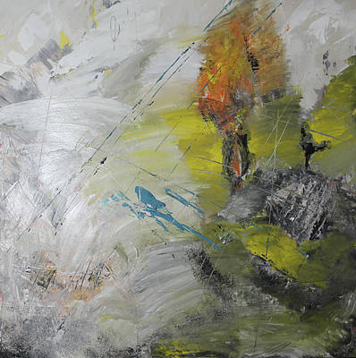 Painting - Fleeting Moment by Lucy Matta - Lulu