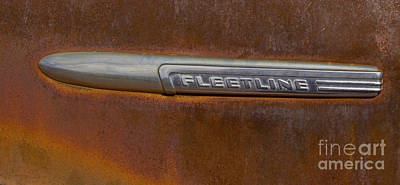 Fleetline Emblem Photograph - Fleetline   #0973 by J L Woody Wooden