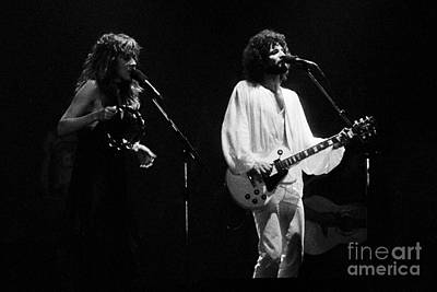Fleetwood Mac In Amsterdam 1977 Art Print