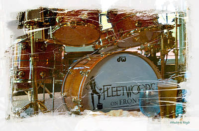 Photograph - Fleetwood's Drums by Paulette B Wright