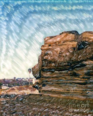 Photograph - Fletchers Cove Cliff by Glenn McNary