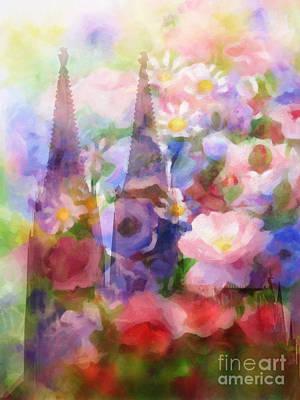 Painting - Fleur De Cologne by Lutz Baar
