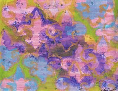Painting - Fleur De Lis 1 by Ellen Howell