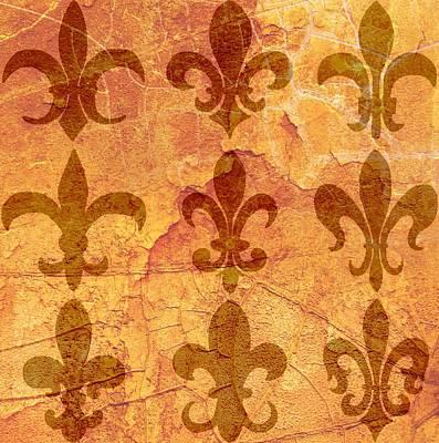 Fleur-de-lis Digital Art - Fleur De Lis by Cindy Edwards