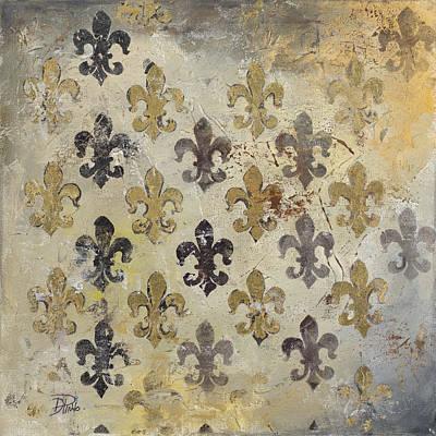 Fleur De Lis Painting - Fleur De Lis by Patricia Pinto