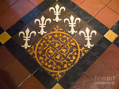 Photograph - Fleur De Lyse Floor by Brenda Kean