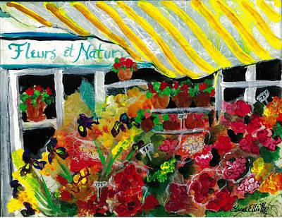 Fleurs Et Nature Art Print
