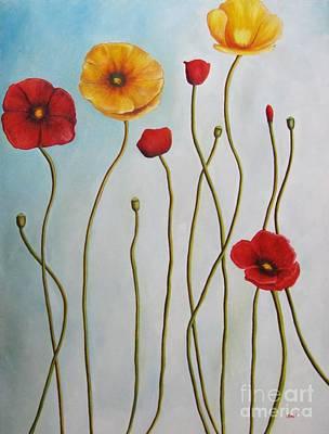 Painting - Fleurs II by Venus
