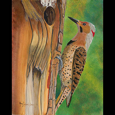 Painting - Flicker by Amy Reisland-Speer
