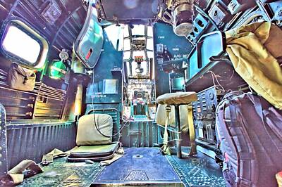 Photograph - Flight Deck by Gordon Elwell