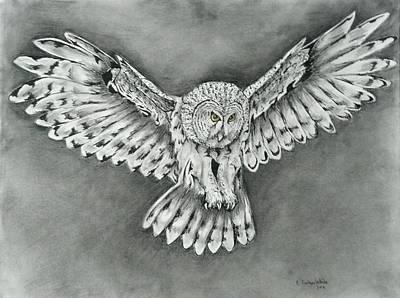 Flight Art Print by E White