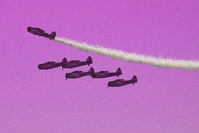 Photograph - Flight Formation by Mustafa Abdullah