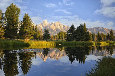 Impressionist Landscapes - Flight in the Tetons by Rob Hemphill