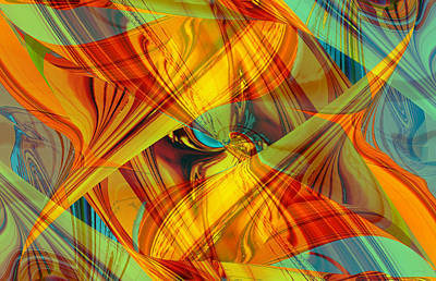 Digital Art - Flight Of Color by Roy Erickson