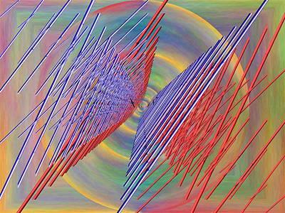 Albatross Digital Art - Flight Of The Albatross by Tim Allen