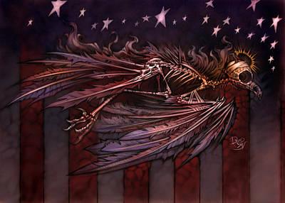 11th Digital Art - Flight Of The American Spirit by David Bollt