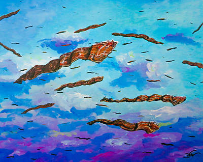 Painting - Hog Heaven by Joel Tesch