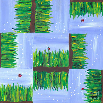 Painting - Flight Of The Ladybug by Kristen Fox