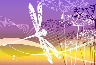 Digital Art - Flight Pattern 2 by Angelina Vick