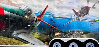 Photograph - Flight Simulator Trailer by Christy Usilton