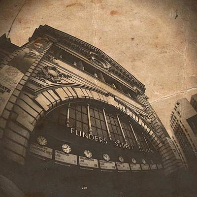 Phoneography Photograph - Flinders Of Old by Dan Kerr