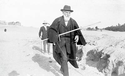 60s Photograph - Flinders Petrie In Egypt by Petrie Museum Of Egyptian Archaeology, Ucl