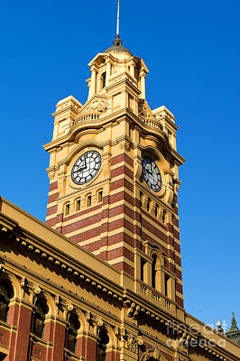 Photograph - Flinders Street Station by Yew Kwang