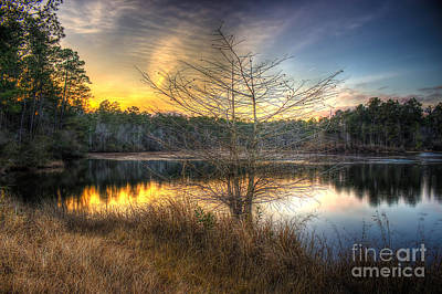 Photograph - Flint Creek Sundown by Maddalena McDonald