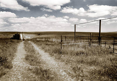 Flint Hills Country Art Print