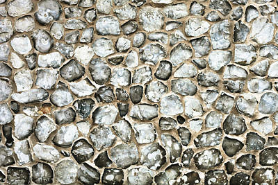 Flint Stone Wall Art Print by Tom Gowanlock