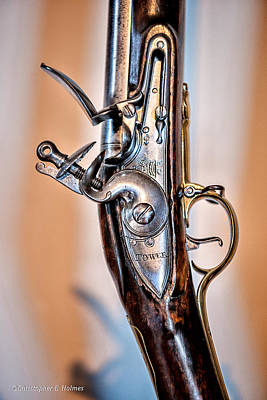 Photograph - Flintlock by Christopher Holmes