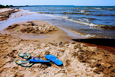 Photograph - Flip Flop Heaven by Sheryl Burns