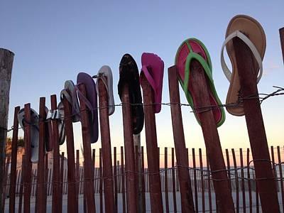 Flip Flops Photograph - Flip Flop Lost And Found by Kristopher Schoenleber