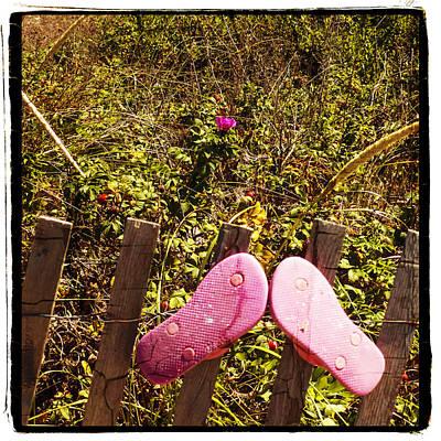 Photograph - Flip Flops by Frank Winters