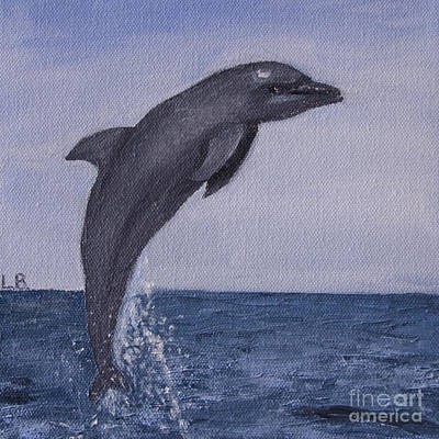 Painting - Flipper by Laurel Best