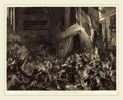 Félix Bracquemond After Eugène Delacroix Art Print by Litz Collection