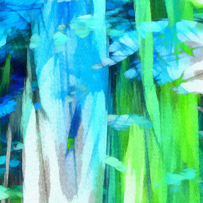 Digital Art - Float 2 Excerpt by Angelina Vick