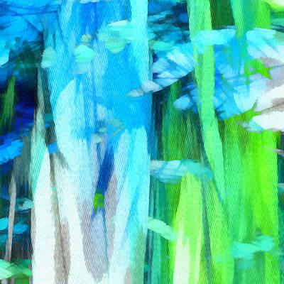 Digital Art - Float 2 Excerpt by Angelina Tamez