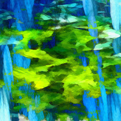 Abstract Digital Mixed Media - Float 3 Excerpt by Angelina Vick