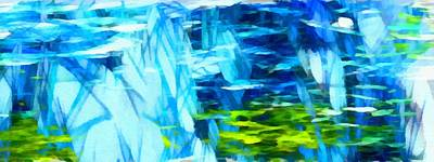 Digital Art - Float 3 Horizontal  by Angelina Tamez