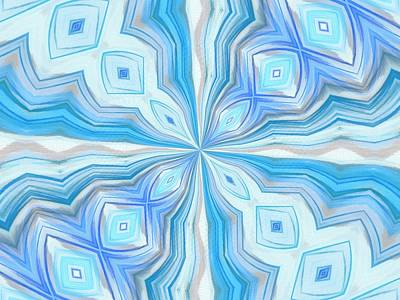 Mixed Media - Float Abstract Pattern 2 by Angelina Vick