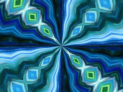 Mixed Media - Float Abstract Pattern 6 by Angelina Vick